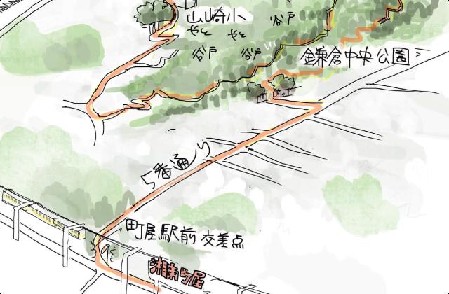 湘南町屋駅からヤトヤトしながら、北鎌倉へ