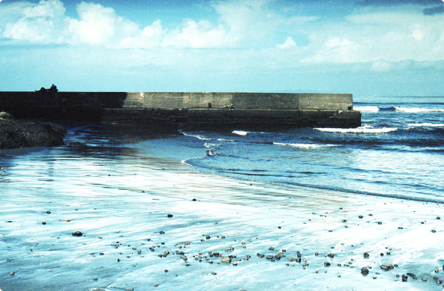 秘密の海岸