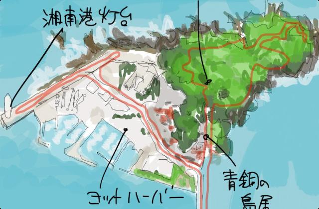 偶然目覚めた朝は、日の出ラーン。湘南江の島駅から本日一番乗りの江の島へ