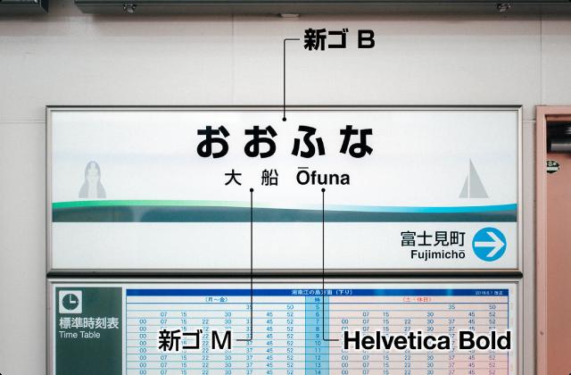 湘南モノレールの駅名標を見てみよう