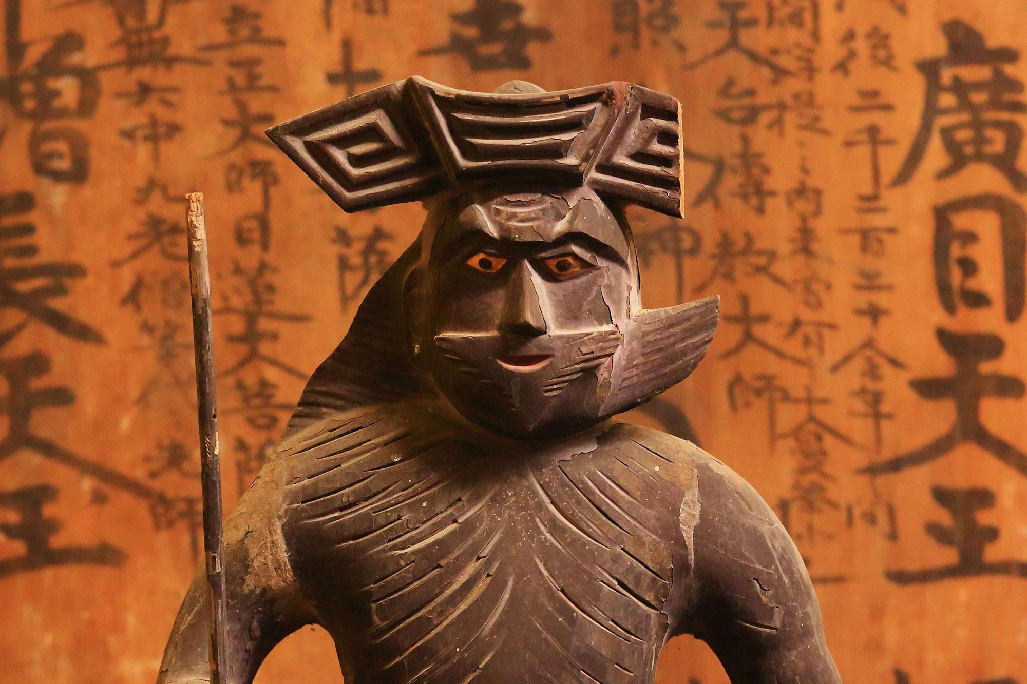 ■ 謎の(伝)帝釈天像