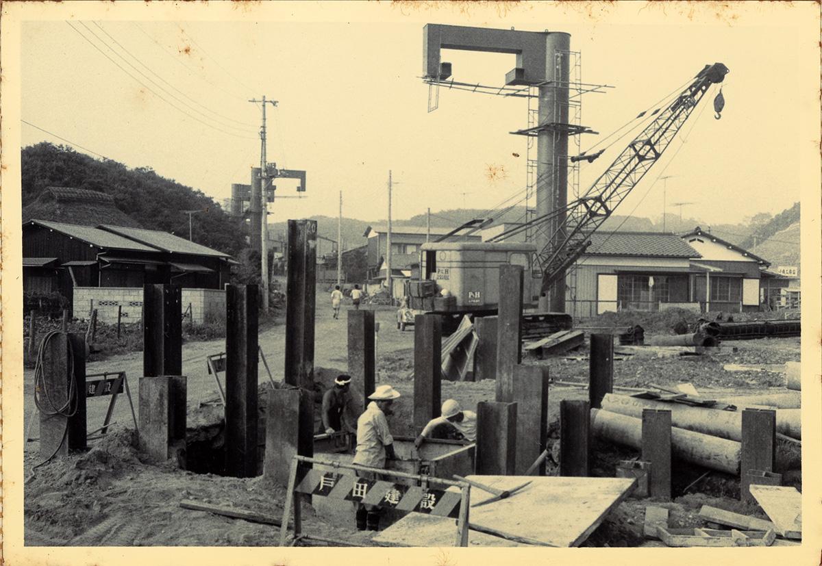 #31 世界初となった懸垂型モノレールのトンネル工事