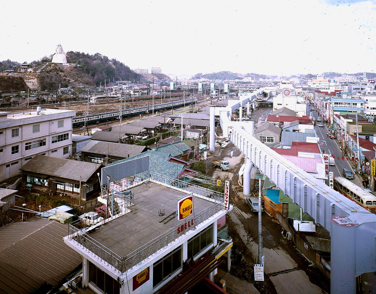 #33 大船―西鎌倉間、部分開業当時の大船駅周辺の様子